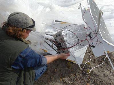 Un globo de la NASA cayó en Proximidades de Las Heras