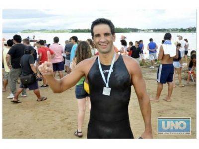 Aguas abiertas: Se corrió la maratón Villa Urquiza-Paraná