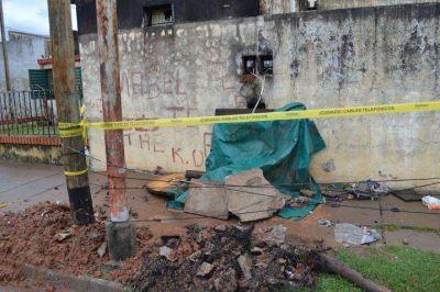 Vecinos sin luz por más de 24 horas en el barrio Laguna Seca