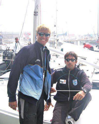De Martis y Van Avermaete, plata en la clase J24