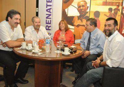 Stella Casasola asumió al frente de la nueva jefatura del RENATEA