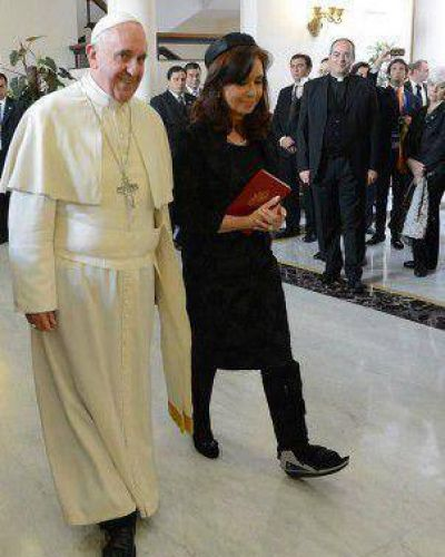 El mensaje político de la reunión del Papa con Cristina