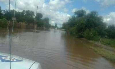 Fuerte trabajo en Milagro, luego de la inundación