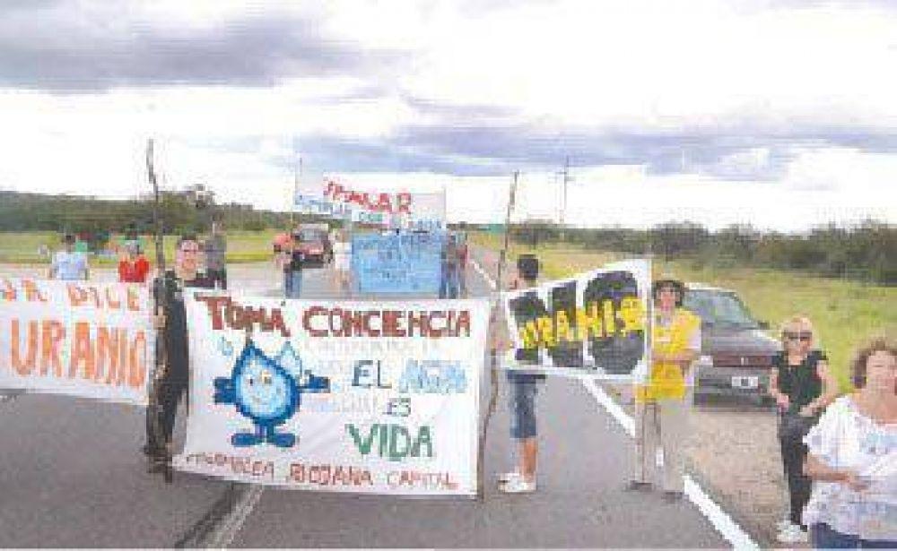 """Realizan corte de ruta selectivo en zona de """"El Cantadero"""""""