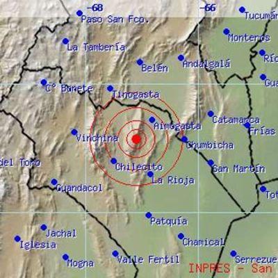 Fuerte temblor en La Rioja