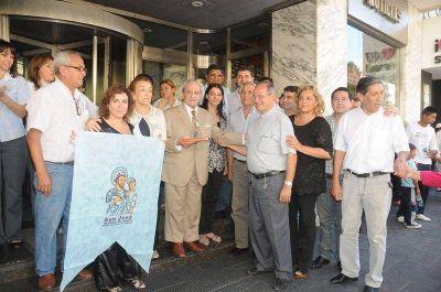 La Capital recibió la visita de San José, patrono de Perico