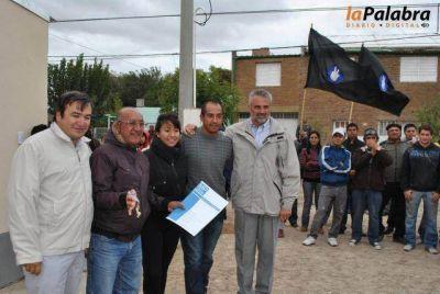Entregaron las 11 viviendas del Programa Techo Digno en Patagones