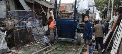 Marcha en reclamo de la urbanizaci�n de la villas porte�as