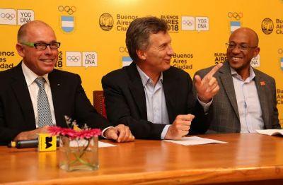 Macri destac� la realizaci�n en la Ciudad de los Juegos Ol�mpicos de la Juventud 2018