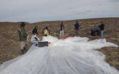 Un globo aerostático de la NASA se desplomó en Santa Cruz