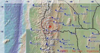 Un sismo de 4 grados despertó a San Juan