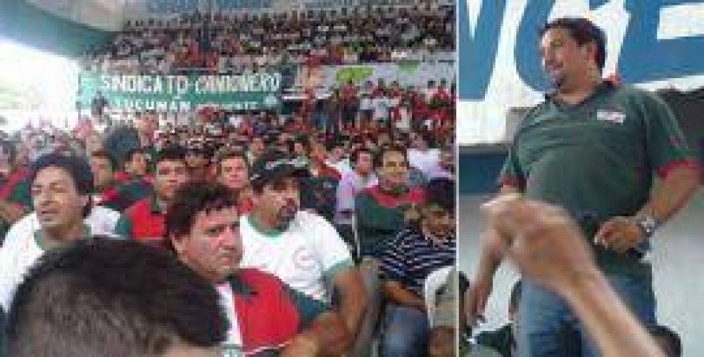 Contundente victoria de César Torres en el Sindicato de Camioneros