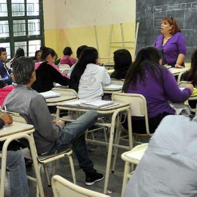 Educación informó que fue bajó el ausentismo docente
