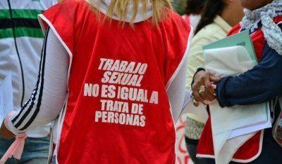 Trabajadoras sexuales se manifestaron frente al Centro Cívico