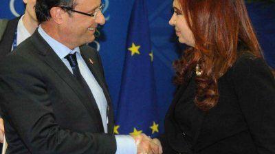 "Cristina Kirchner tendrá una reunión a ""agenda abierta"" con Hollande"