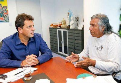 """Félix Díaz le pidió a Massa que """"ponga en agenda"""" a los Qom"""