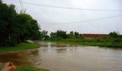 La lluvia complica a San Luis, Itatí y Empedrado