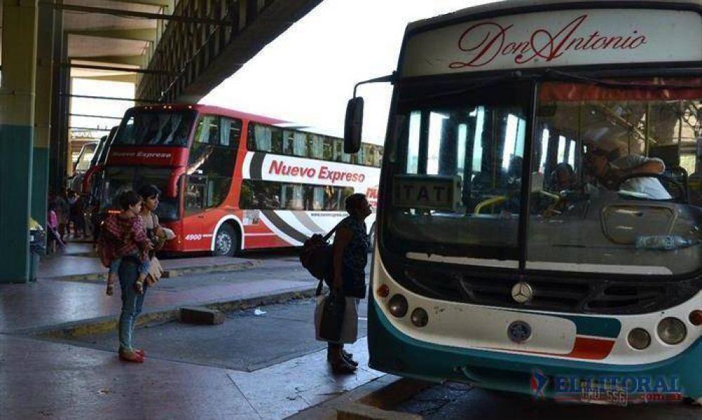 Preocupación en el transporte provincial por una merma de demanda del 30%