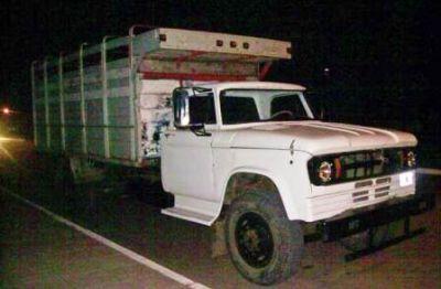 Policía impidió robo de 2,5 toneladas de maíz