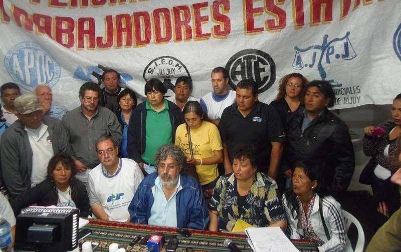 Movilización y asamblea de la Intersindical
