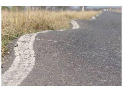 """El 20% de las rutas provinciales presenta """"un estado crítico"""""""
