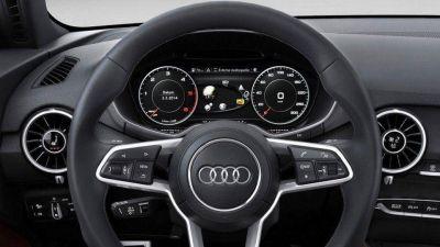 Tres nuevos modelos de Audi incorporarán la pantalla detrás del volante del TT 2015