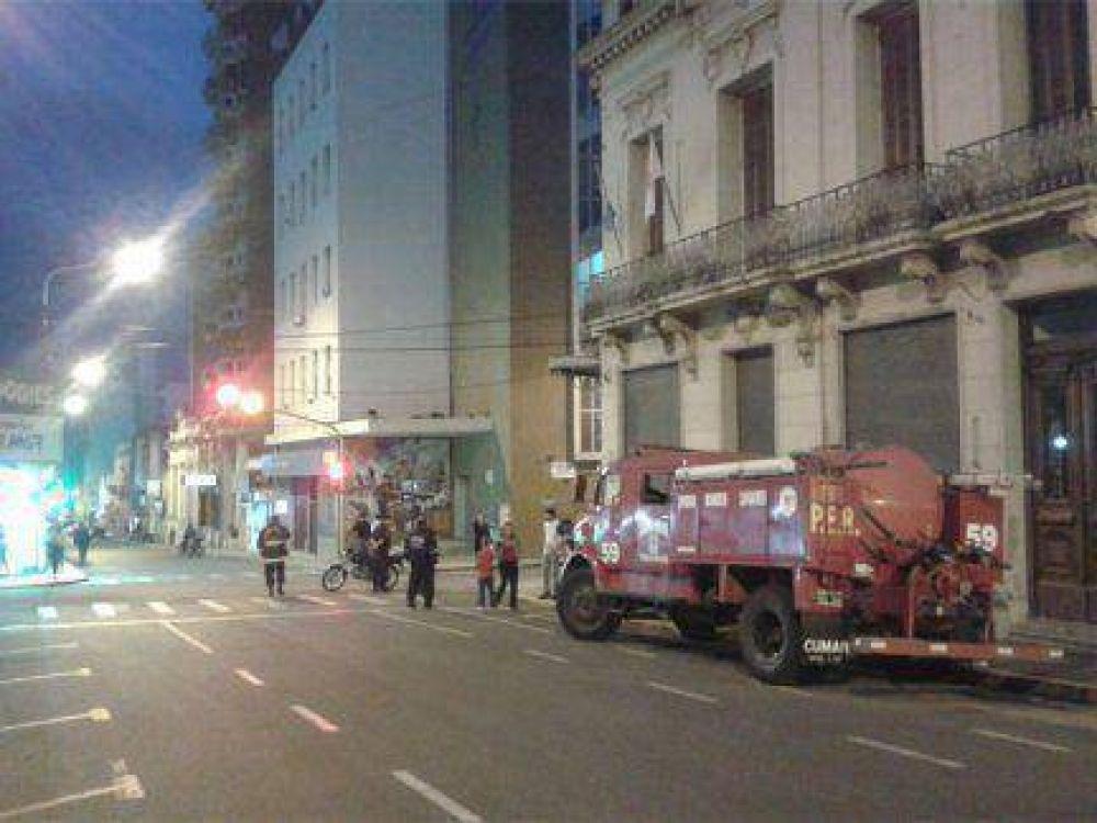 Un escape de gas generó alarma en el centro de Paraná