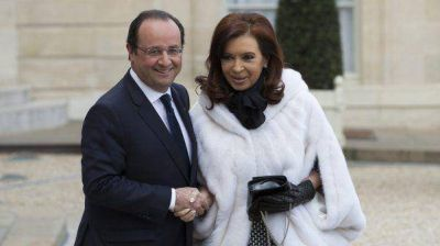 Cristina Kirchner participa de la inauguraci�n del Sal�n del Libro de Par�s