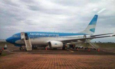 Aterrizó en Posadas el vuelo que se desvió de Asunción