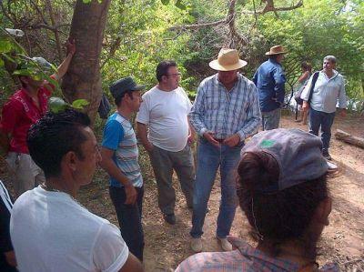 El gobierno mantiene asistencia integral a productores de zonas afectadas por desbordes