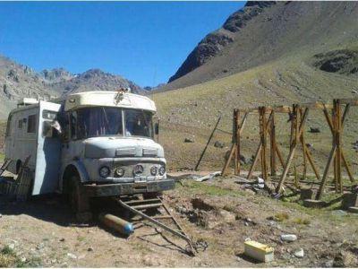 Mendoza conservará cuatro cobertizos del Ferrocarril Trasandino en alta montaña