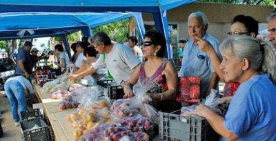 Más de 50 mil kilos de producción local en Fruta para Todos
