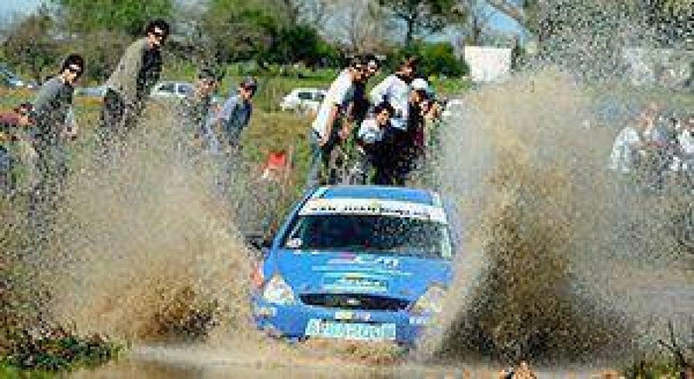 El sanjuanino Gabriel Abarca correrá el Sudamericano de rally en Uruguay