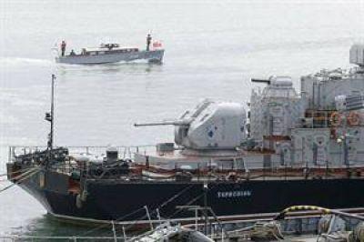 Hombres armados toman por asalto un buque de guerra ucraniano en Crimea
