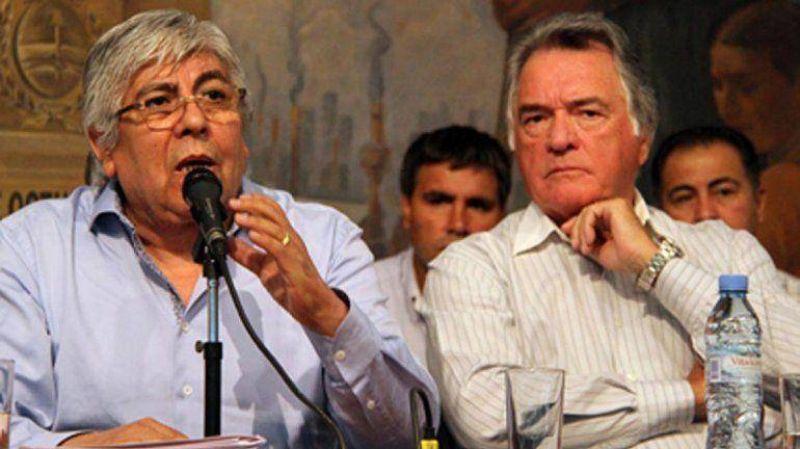 Hugo Moyano y Luis Barrionuevo confirmaron un pr�ximo paro nacional