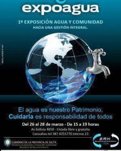 Del 26 al 28 de marzo se realizará en Salta la Expoagua 2014