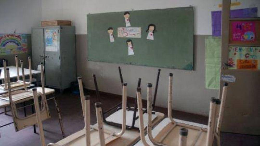 La huelga docente bate un record histórico en Provincia