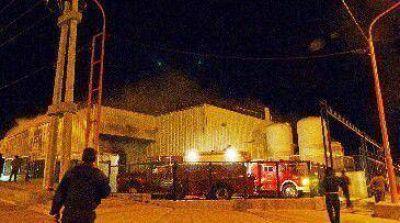 Incendio destruyó supermercado