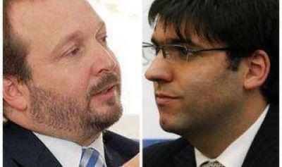 Enfrentamiento en el kirchnerismo: Bossio y Sabbatella, a las piñas en Morón