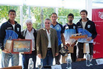 San Fernando y Tigre recibieron a los equipos de Remo y Canotaje