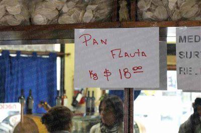 En la mayoría de las panaderías el kilo de pan cuesta entre $20 y $23