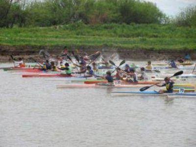 Canotaje: Corriendo en La Pampa