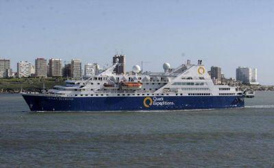 Mar del Plata: Llegó un crucero