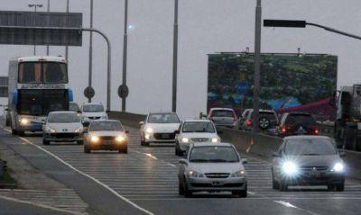 El tránsito hacia la Costa tuvo un pico de casi 1.600 vehiculos por hora