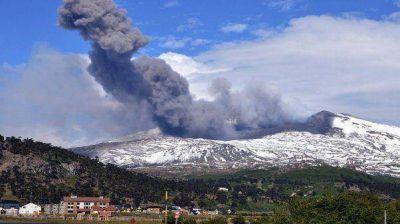Alerta amarilla en Neuquén por actividad del volcán Copahue