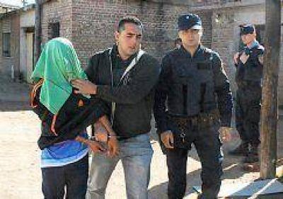 Seis detenciones en cuatro allanamientos simult�neos