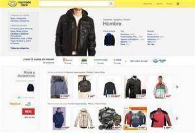 El argentino perdió el miedo a comprar ropa por Internet