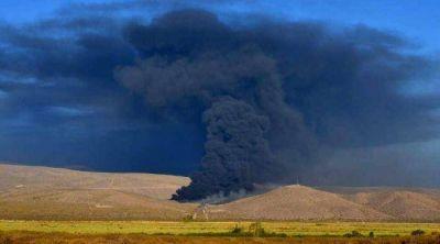 Incendio de la planta de YPF: p�rdidas por m�s de U$S 5 millones