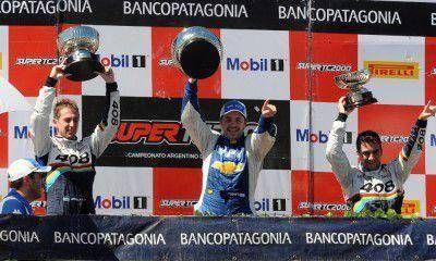 Gran debut y podio para el mendocino Julián Santero en el Súper TC 2000