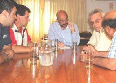 Tineo recibió a integrantes de la Federación Agraria Argentina